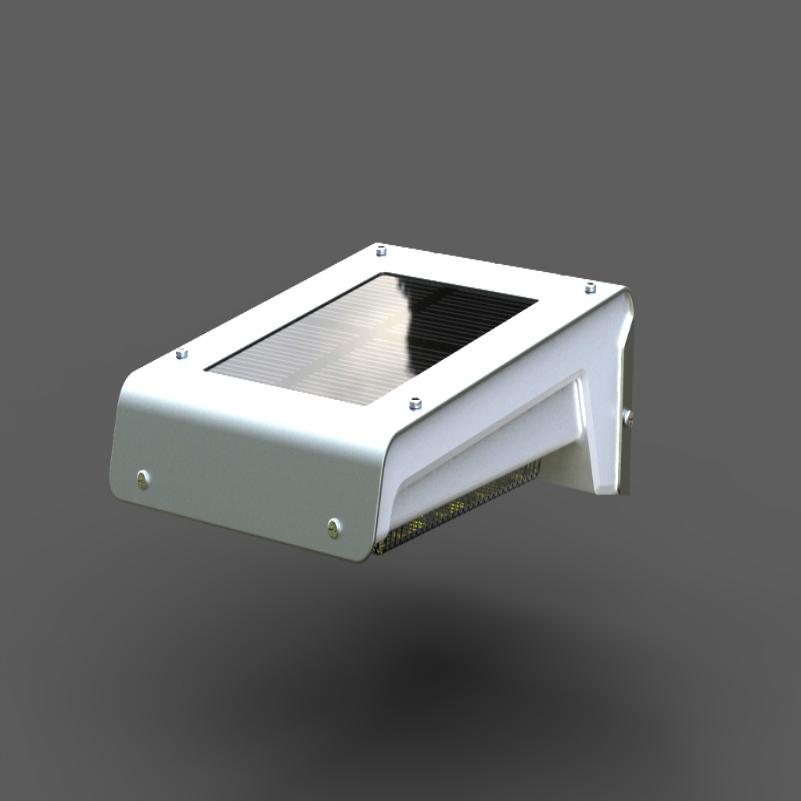 Kingavon Solar Wall Lights : Solar Motion Wall Light 1 Watt Auto On & Off