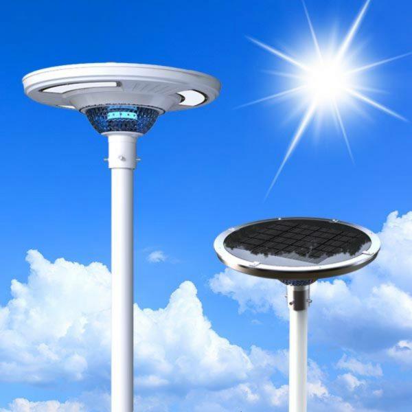 Solar Plazza Led Light With Landscape Lighting