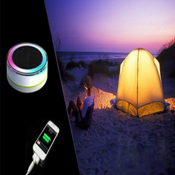 Solar Camping Light with Mobile Charger