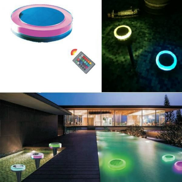 Solar decorative led light with string light