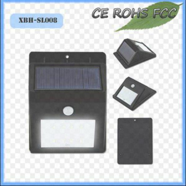 1.6 Watt Solar LED Motion Sensor Light Over 12 hours working time