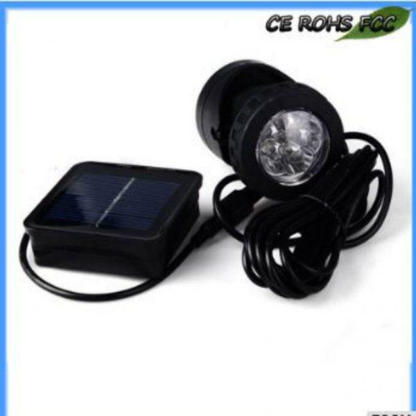 Best outdoor feature-Solar Pool Light-2 Watt-Aluminum Alloy +ABS + Nylon Body Material