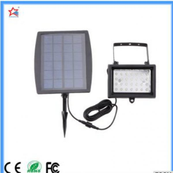 Solar Flood Light in 1 Watt working for 8 hours with 3 V input voltage
