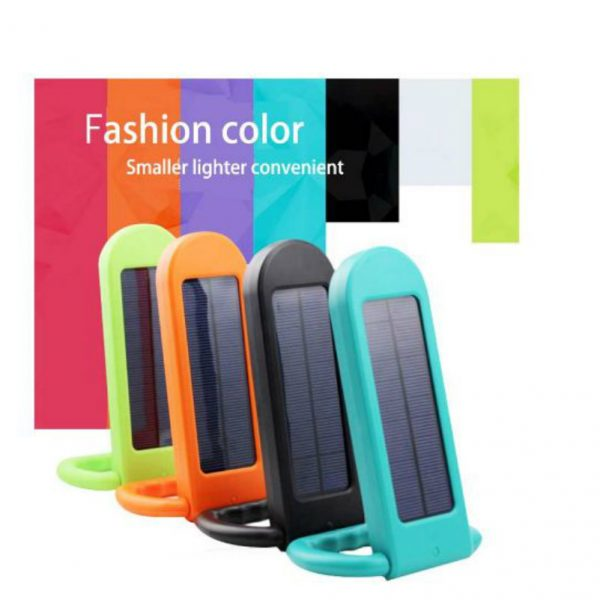 Solar Portable Hand Light with Fashion colours in 1 Watt Power