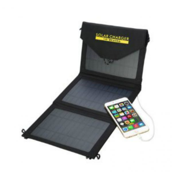 10 W Waterproof Fabric Portable Solar Charger