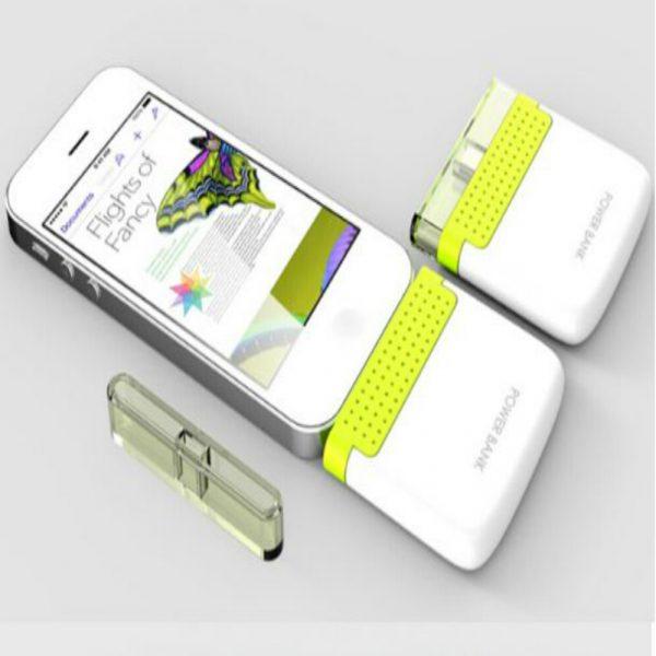 1000 mah Solar Power Bank for Smart Phones