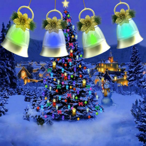 Bell Shape Led Decoration Light Without Music