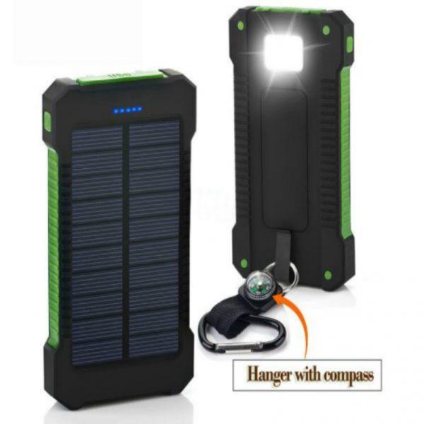 Portable Solar Charger_capacity 8000 mah_materialABS+PC