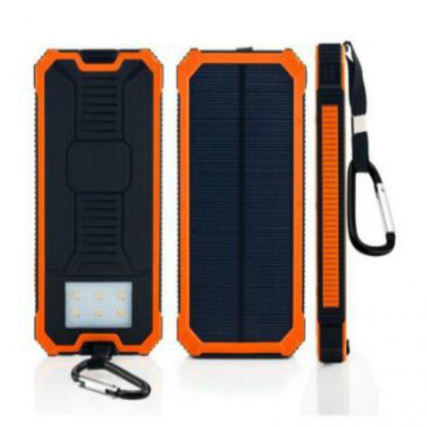 Portable Solar Power Bank 8000mAh Solar Charger