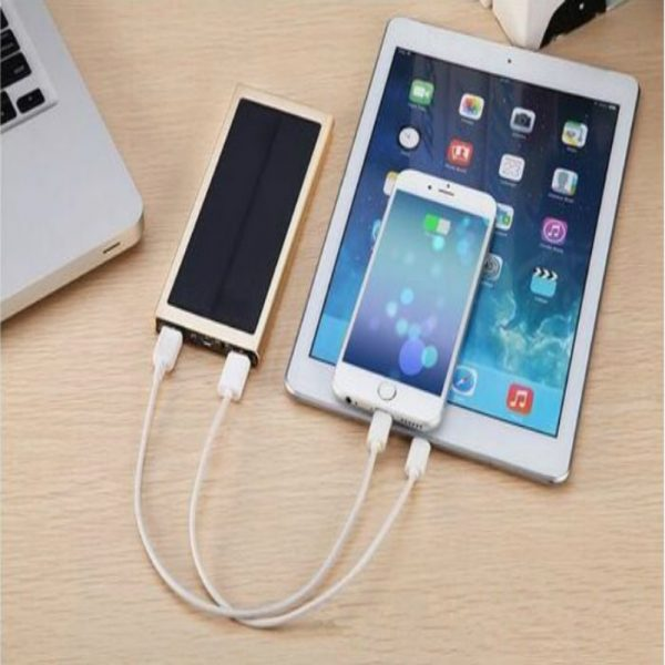 Solar Charger 10000 mAh for Mobile Phone, IPad, MP3, MP4