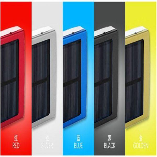 Solar Charger 10000 mAh with different fancy colors