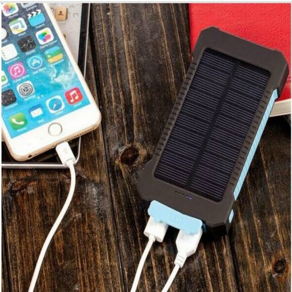 Solar Charger 10000 mAh_Safe, reliable for perfect outdoor activities