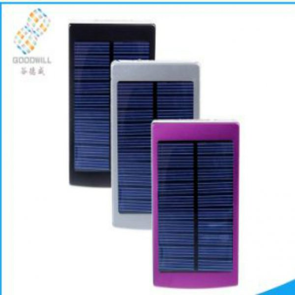 Solar Charger 5000 mah with Fancy Colors