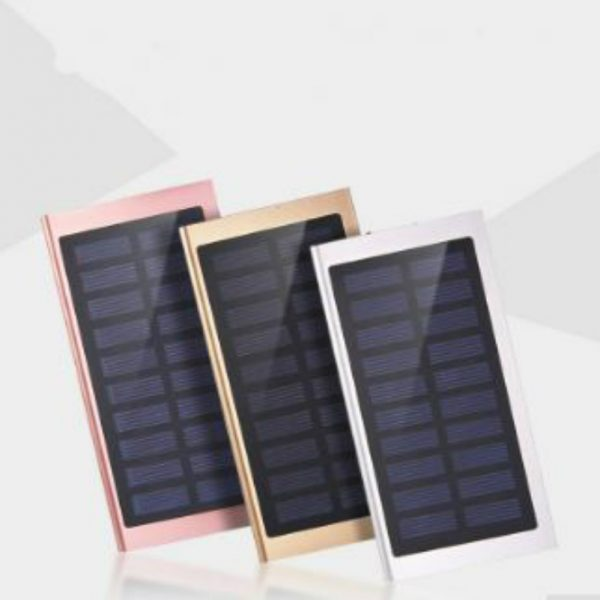 Solar Charger 8000 mAh with fancy colors