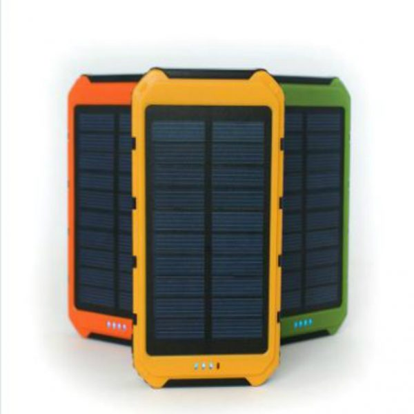 Solar Charger New square design Solar Panel 8000mAh