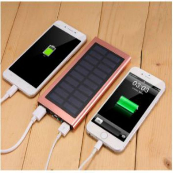 Solar Charger _10000 mAh _Lithium Polymer Battery