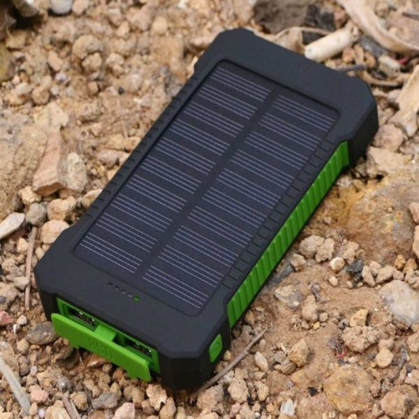 Solar Charger_5000 mah_with 9 LED Lights