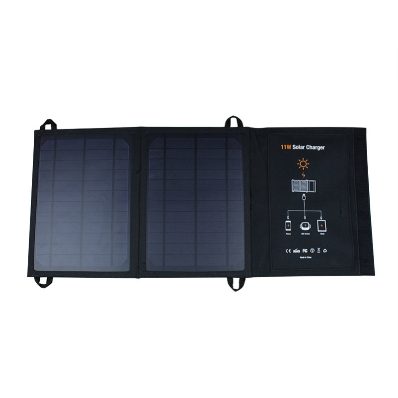 Solar Mobile Phone Charger With Dual Usb 11 Watt