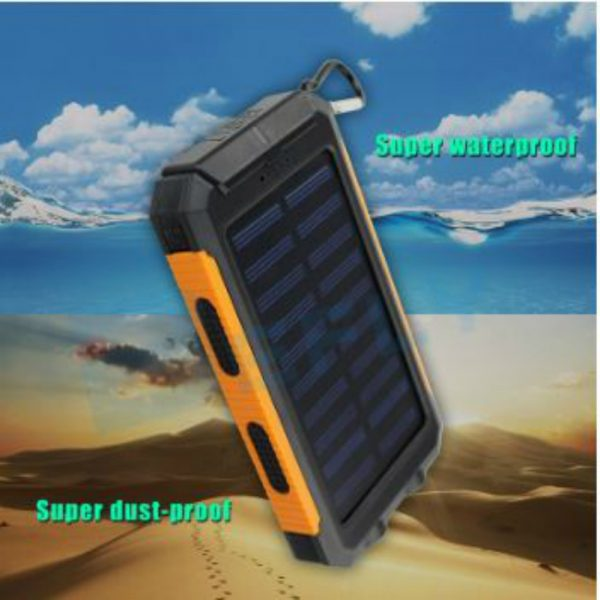 Solar Power Bank 8000 mah