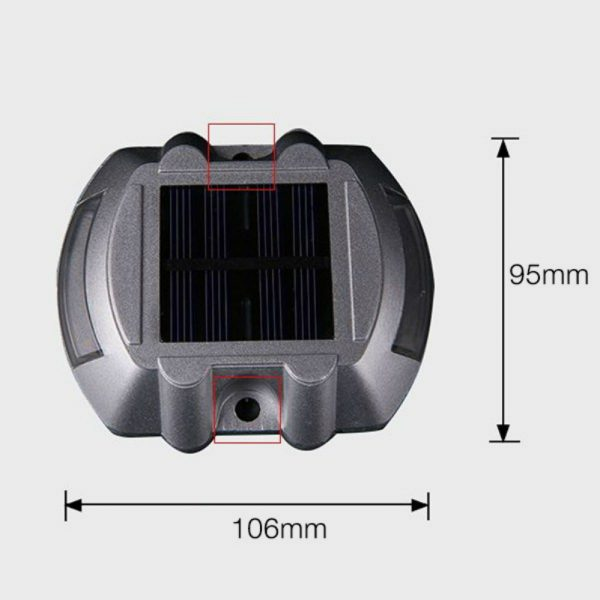 Solar Road Stud-Hippocrepiform
