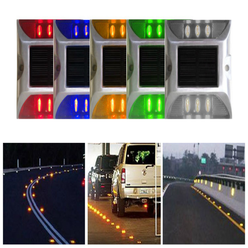 Solar Road Stud Auto On And Off 7 Nights Working Time