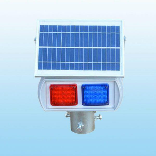 Solar Traffic Flashing Light