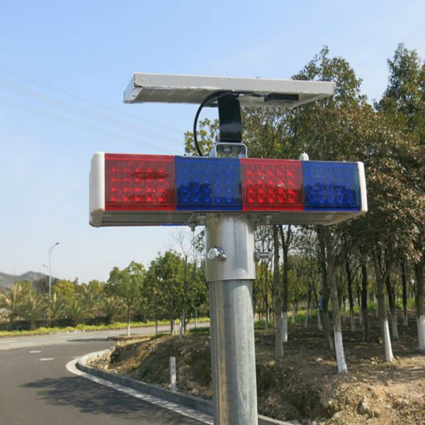 Solar Traffic Flashing Light