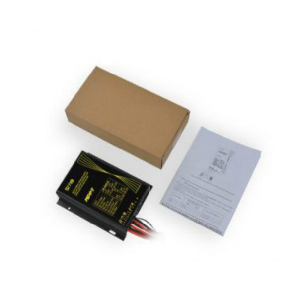Solar charger controller with dual load output and time frame_130 Watt