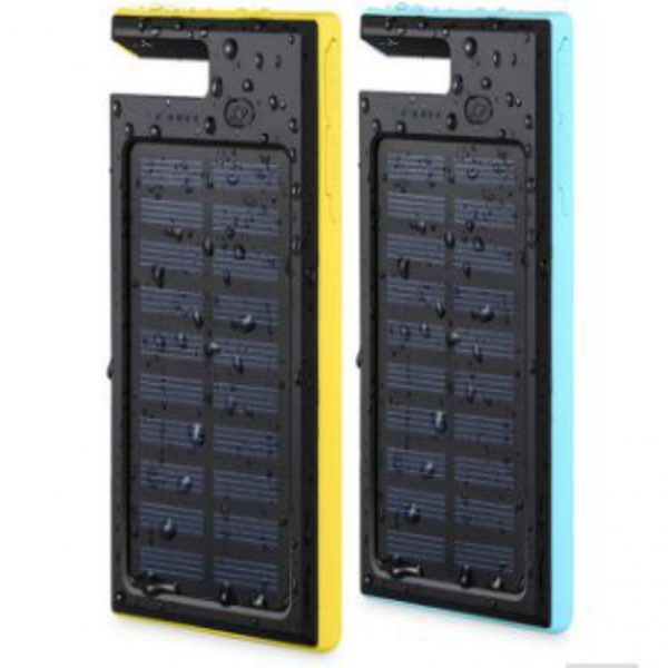 Waterproof Solar Power Bank Battery Charger for electronic device